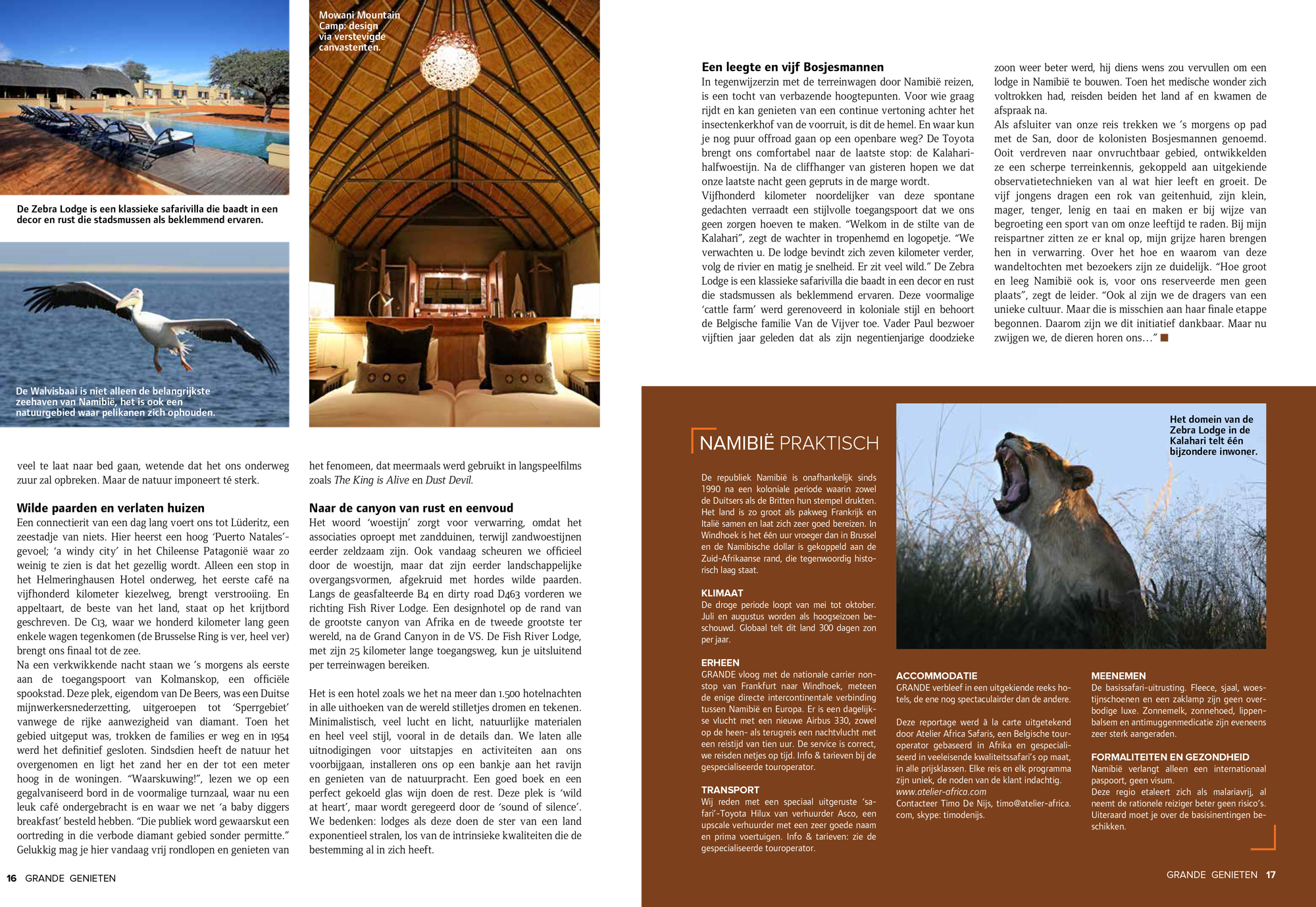 Atelier Africa Safaris - Namibia self drive safari